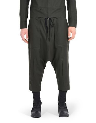 Y-3 WOOL LOW PANT TROUSERS man Y-3 adidas