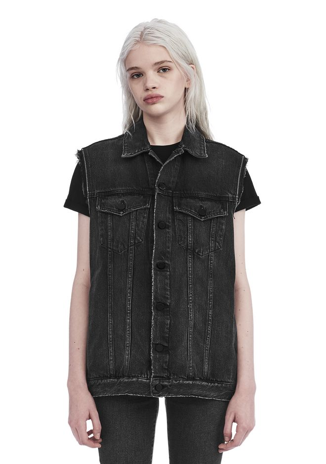 ALEXANDER WANG new-arrivals DAZE OVERSIZED VEST