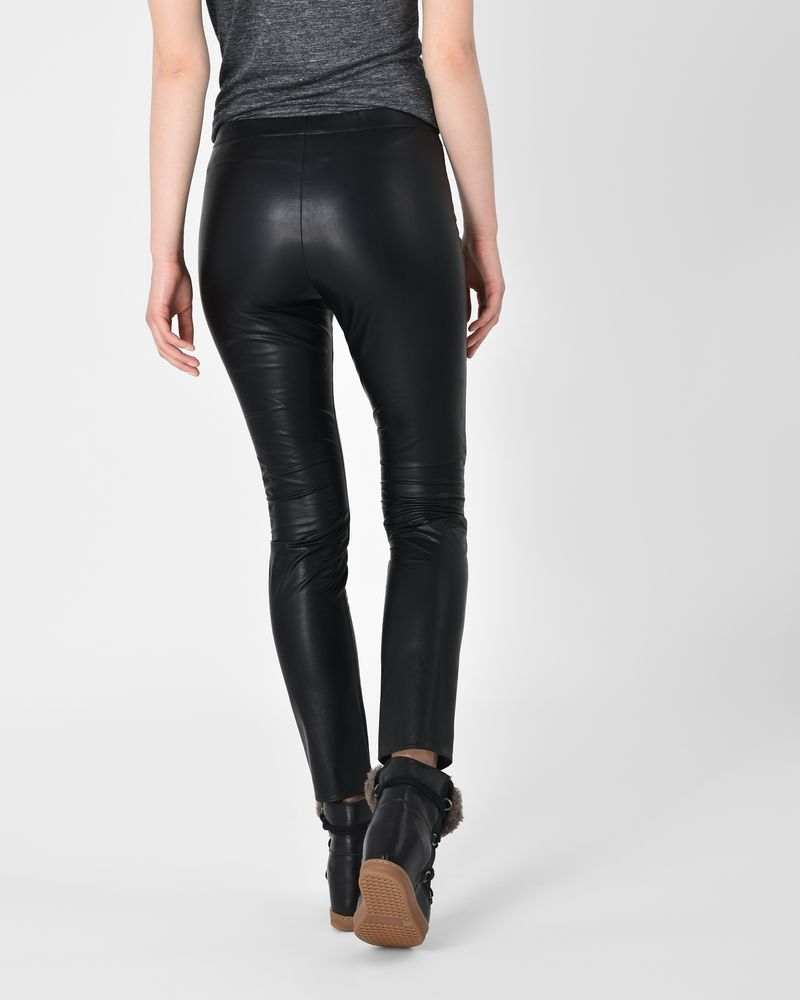 561a45c5f0a ... Zeffery Faux leather trousers ISABEL MARANT ÉTOILE ...