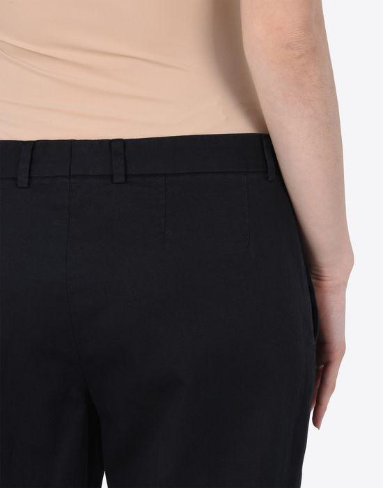 MAISON MARGIELA 1 Cropped cotton-blend trousers Casual pants D a