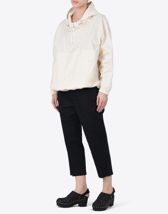 MAISON MARGIELA 1 Cropped cotton-blend trousers Casual pants D d