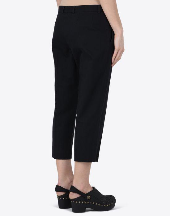 MAISON MARGIELA 1 Cropped cotton-blend trousers Casual pants D e