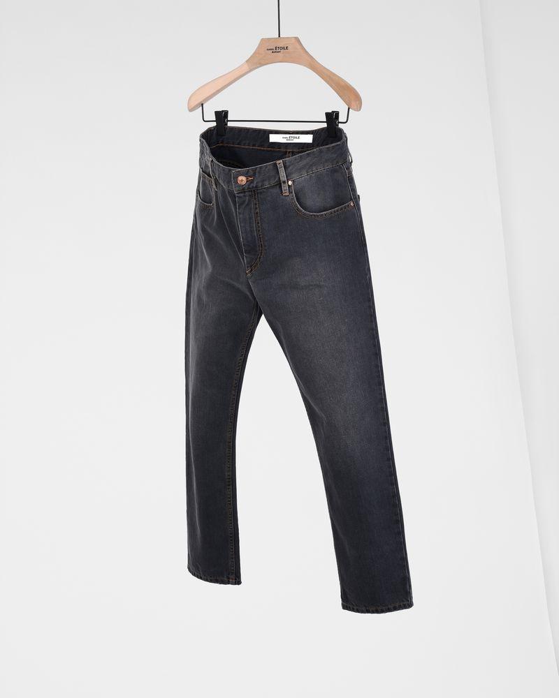 74eee5acb818 ... Cliff Girlfriend fit jeans ISABEL MARANT ÉTOILE