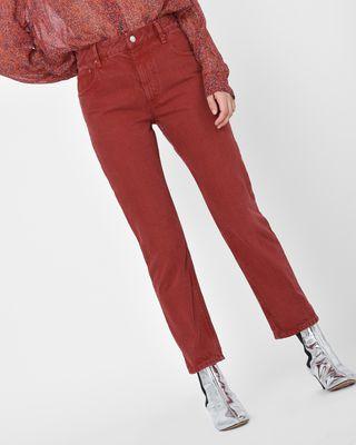 Fliff Girlfriend fit colored jeans