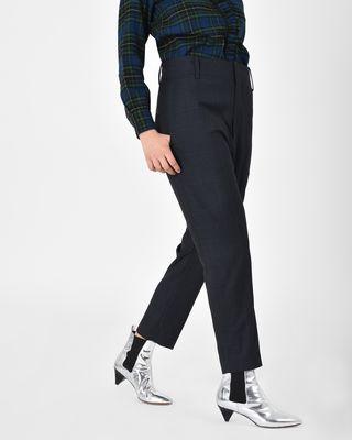 Noah Regular fit virgin wool trousers