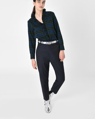 ISABEL MARANT ÉTOILE PANT D Noah Regular fit virgin wool trousers r