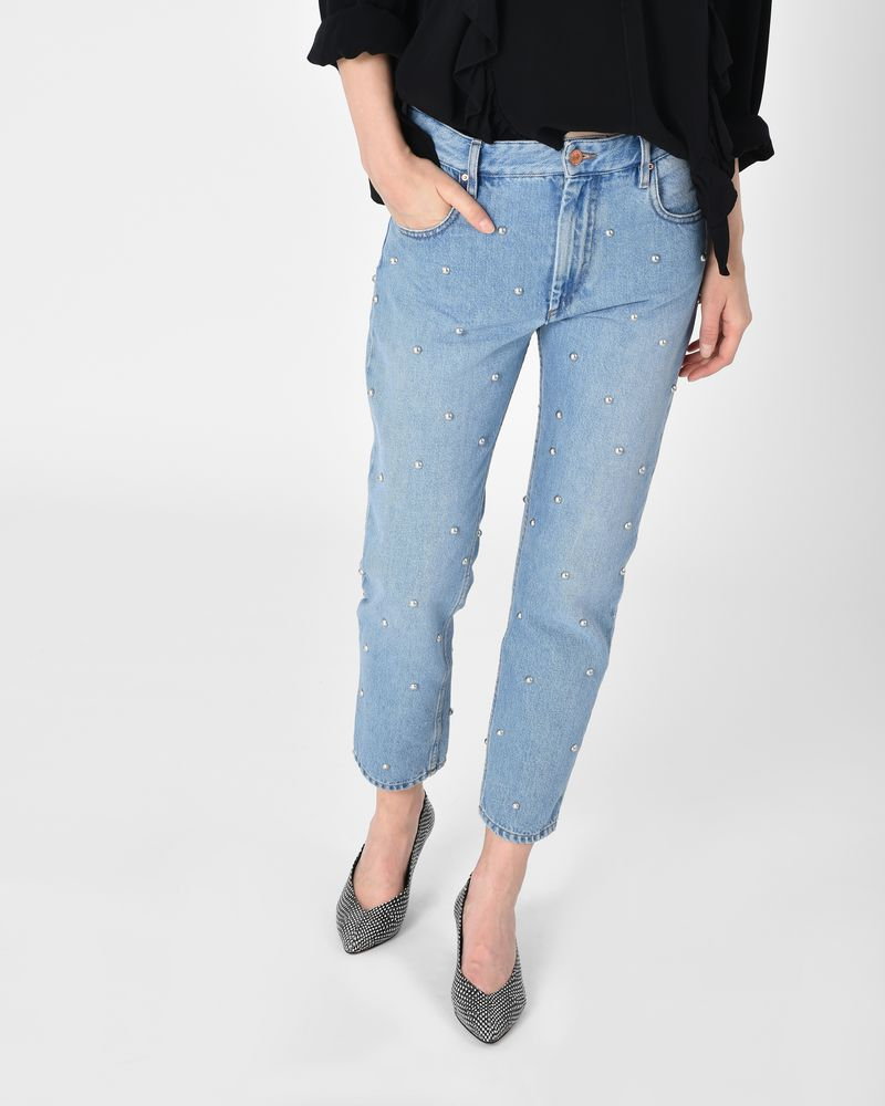 Good Service Isabel Marant studded jeans Get Authentic Cheap Fashion Style AwJ6NpAK