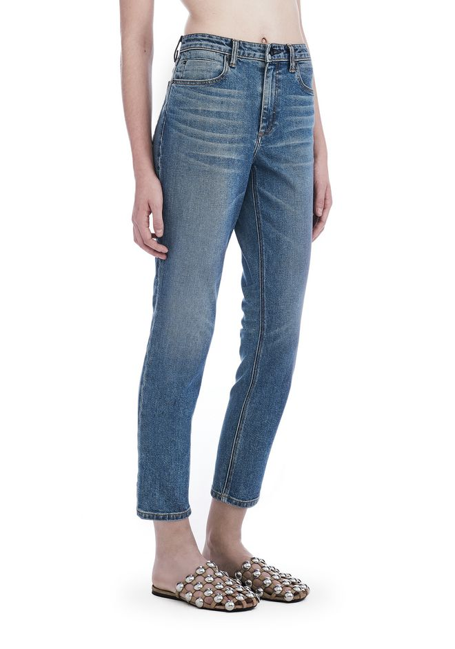 ALEXANDER WANG new-arrivals GRIP HIGH RISE STRAIGHT JEAN
