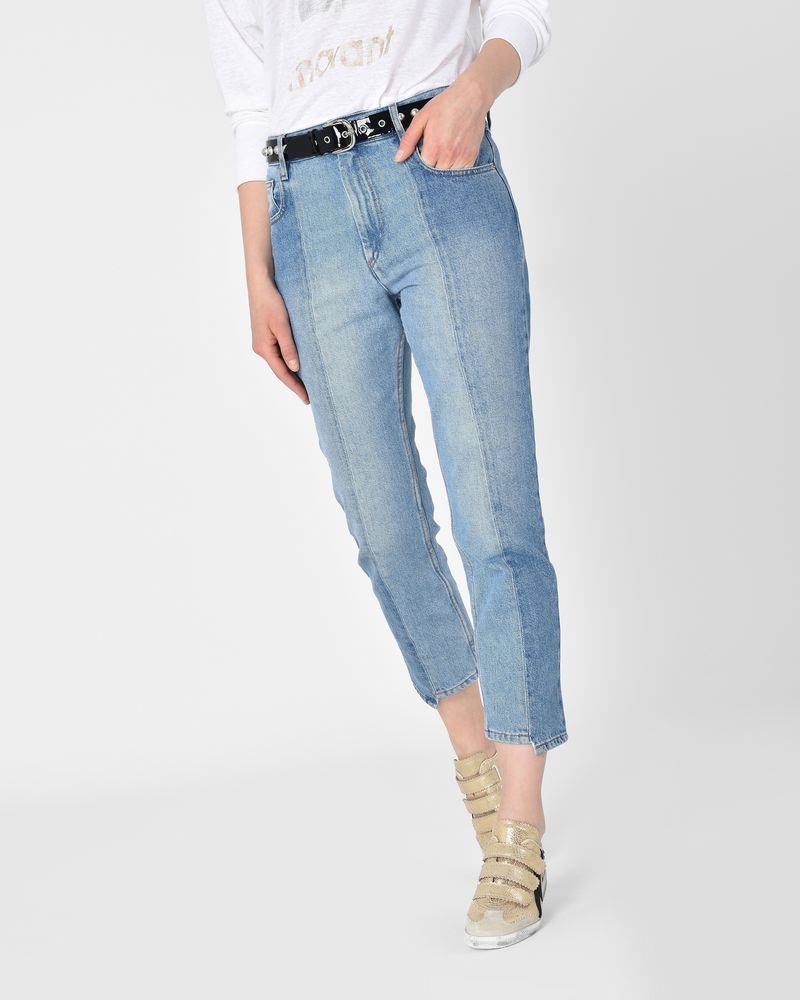 cropped jeans - Blue Isabel Marant Cheap vwOQyV