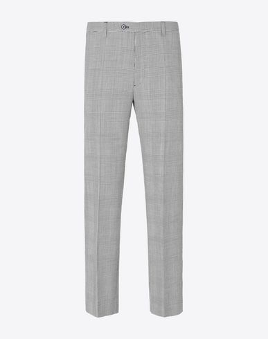 MAISON MARGIELA Casual pants U Cropped and flared virgin wool pants f