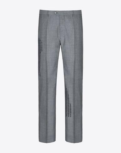 MAISON MARGIELA 14 Casual pants U Virgin wool houndstooth print trousers f