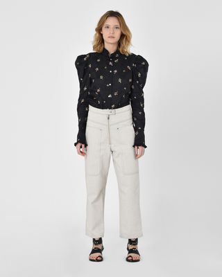 Paden Workwear-inspired denim trousers
