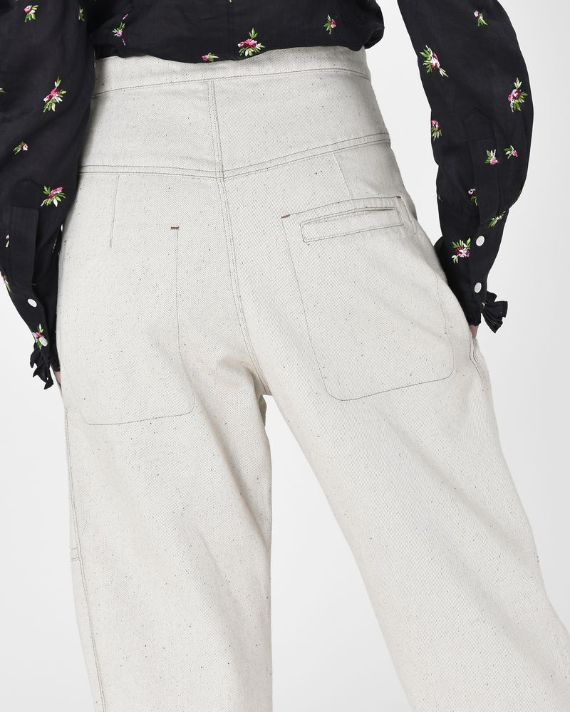 Paden Workwear-inspired denim trousers ISABEL MARANT