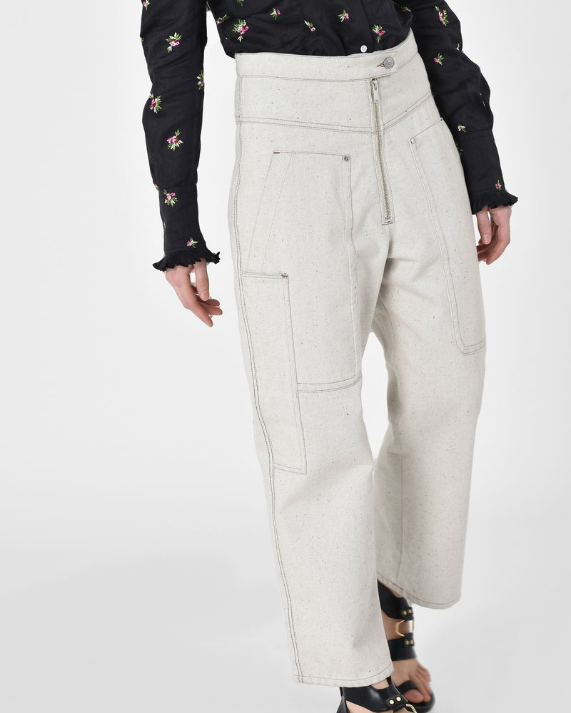 Paden Workwear inspired denim pants ISABEL MARANT