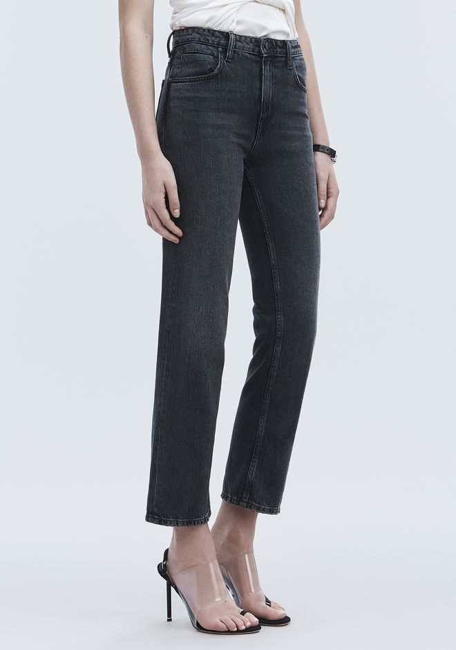 ALEXANDER WANG denim-x-aw CULT STRAIGHT LEG JEAN