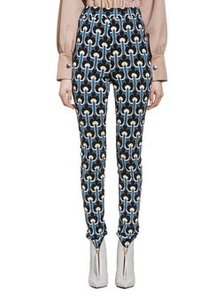 Marni Pants in jersey with Portrait design Woman