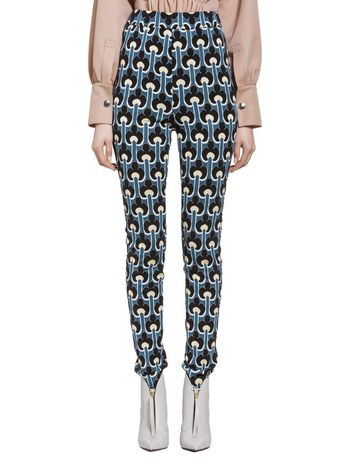MARNI Trouser D Pants in jacquard Portrait f
