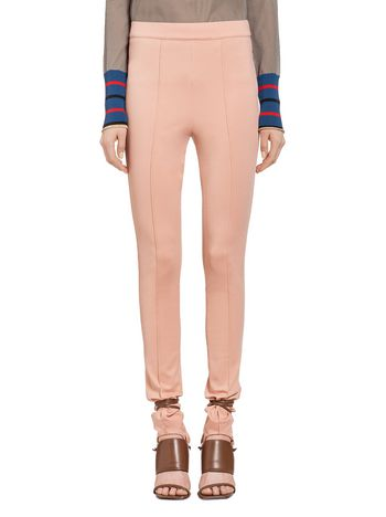 Marni Pants in jersey with pintuck Woman