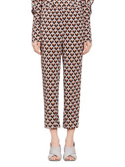 Marni Pants in silk Portrait Woman