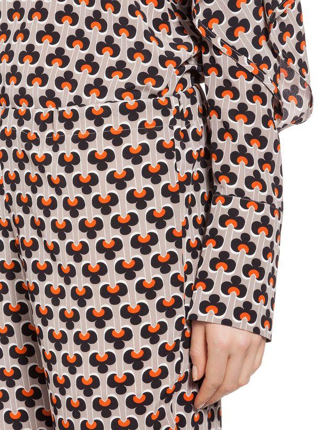 Marni Pants in silk Portrait Woman - 4