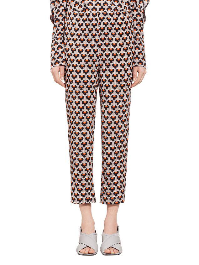Marni Pants in silk Portrait Woman - 1