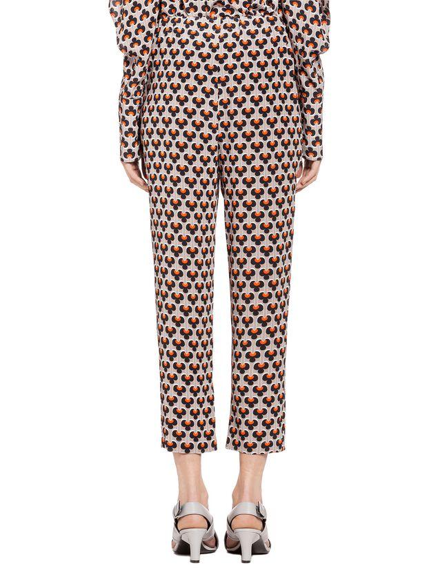 Marni Pants in silk Portrait Woman - 3
