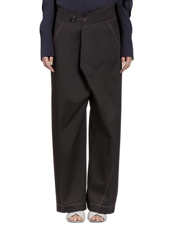 Marni Pants in double cotton Woman