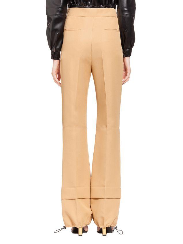 Marni Pants in techno gabardine Woman