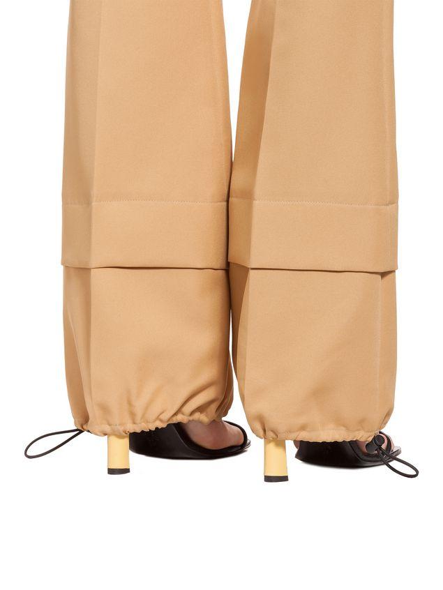 Marni Pants in techno gabardine Woman - 4