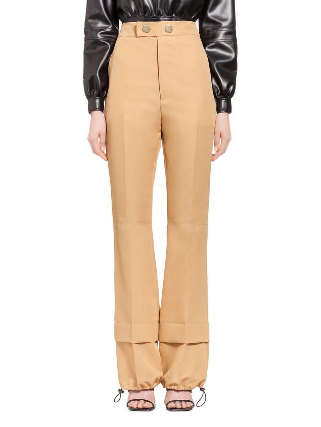 Marni Pants in techno gabardine Woman - 1