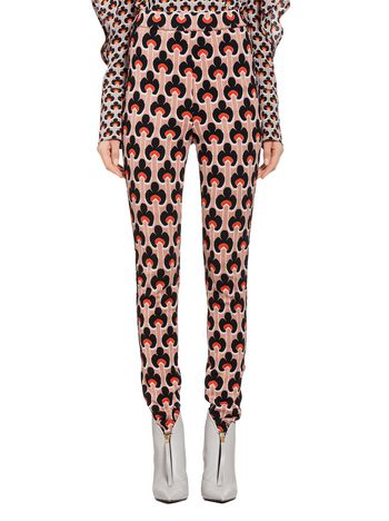 Marni Pants in jacquard Portrait Woman