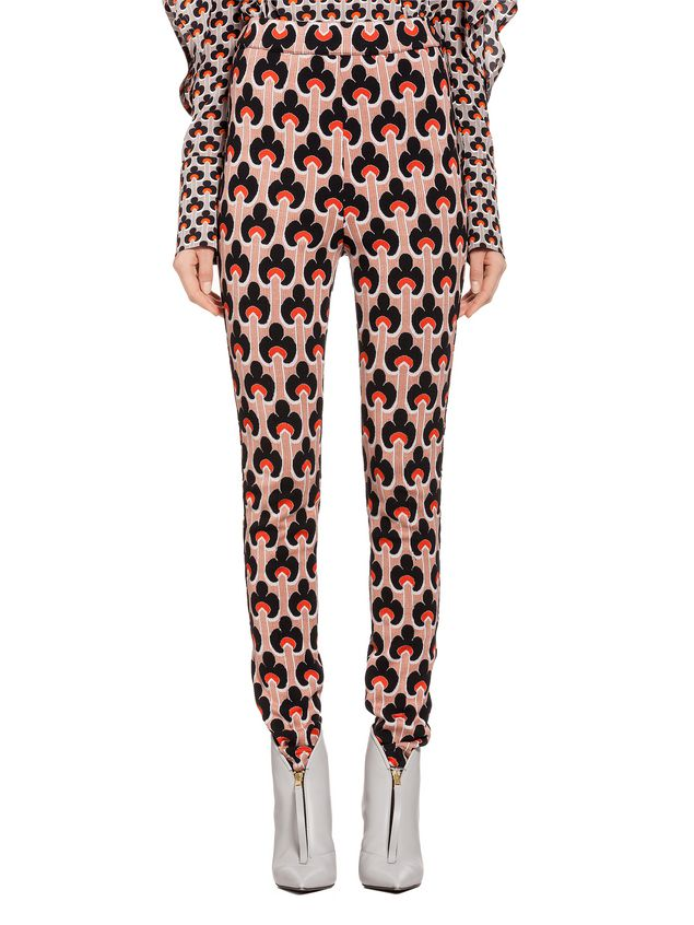 Marni Pants in jacquard Portrait Woman - 1