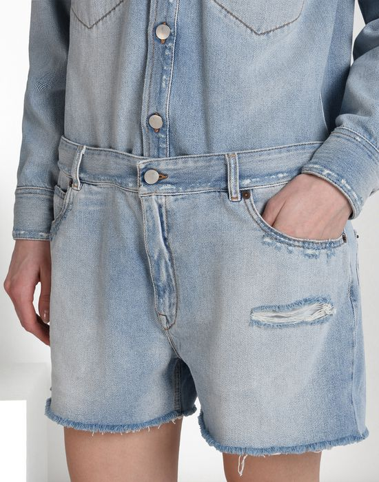 MM6 by MAISON MARGIELA Denim jumpsuit Short pant overall D a