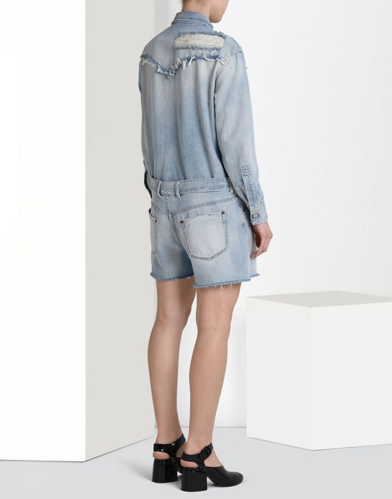 MM6 by MAISON MARGIELA Denim jumpsuit Short pant overall D d
