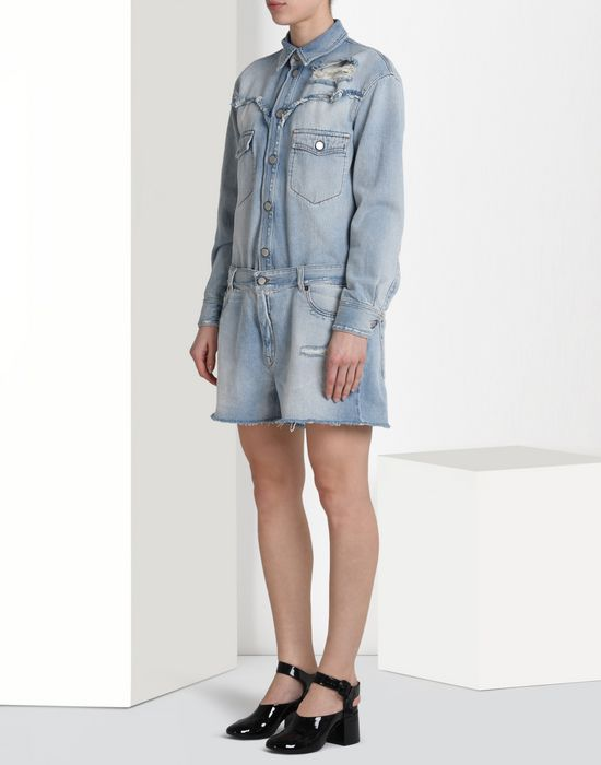MM6 by MAISON MARGIELA Denim jumpsuit Short pant overall D f