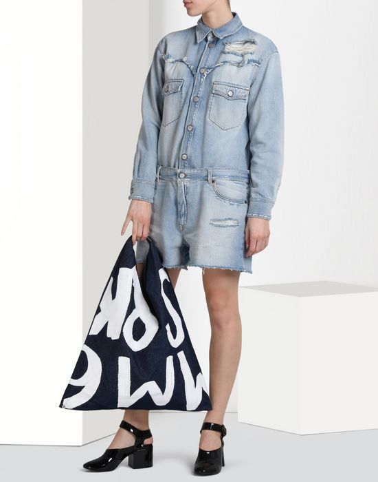 MM6 by MAISON MARGIELA Denim jumpsuit Short pant overall D r
