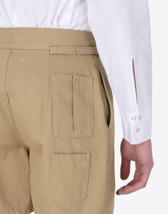 MAISON MARGIELA Gabardine shorts Bermuda U a
