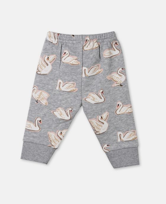 Tootie Swan Print Pants