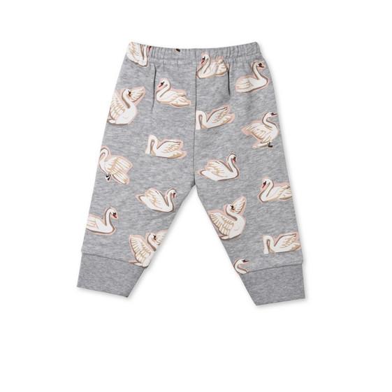 Tootie Swan Print Trousers