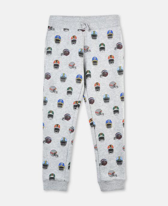 Zachary Helmet Print Pants