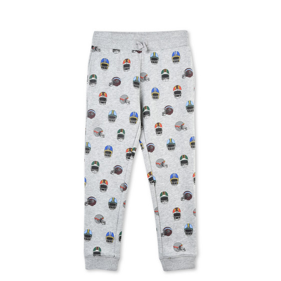 Zachary Helmet Print Trousers