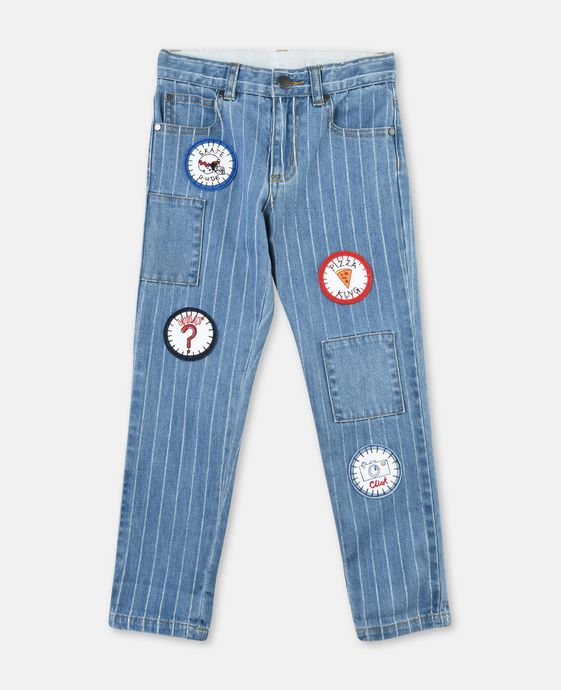 Lohan 中性牛仔裤