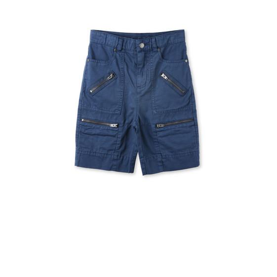 Short Oliver bleu