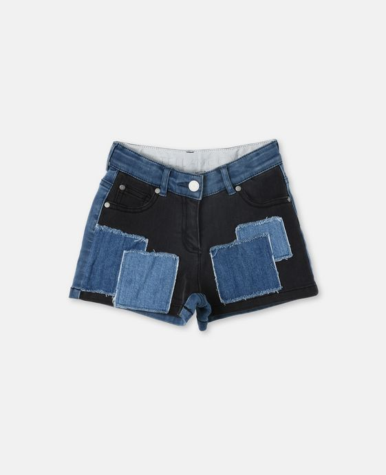 Phoenix Patch Denim Shorts