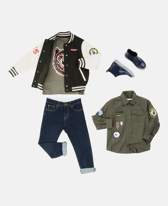STELLA McCARTNEY KIDS Jean Lohan Bas U q