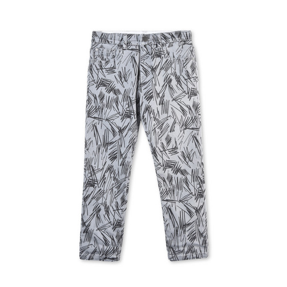 Lohan Grey Scribble Jeans