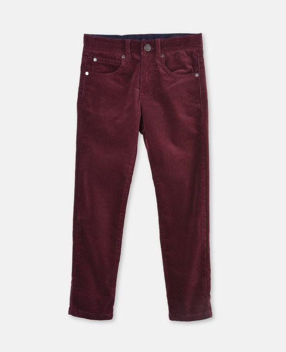 Pedro 酒红色灯芯绒裤装