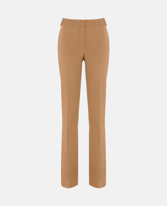 Beige Tailored Jodi Trousers