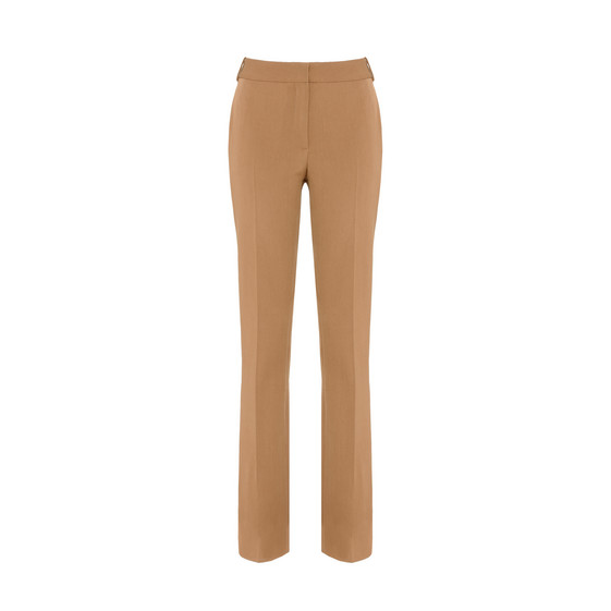 Beige Tailored Jodi Trousers