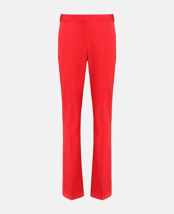 Red Tailored Jodi Trousers